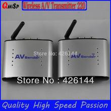 2015 Tv Transmitter Tv Cable Transmissor Cze Rf Modulator New 2.4g Stb Wireless Sharing Device/ Ir Remote Extender/150m Pat-220