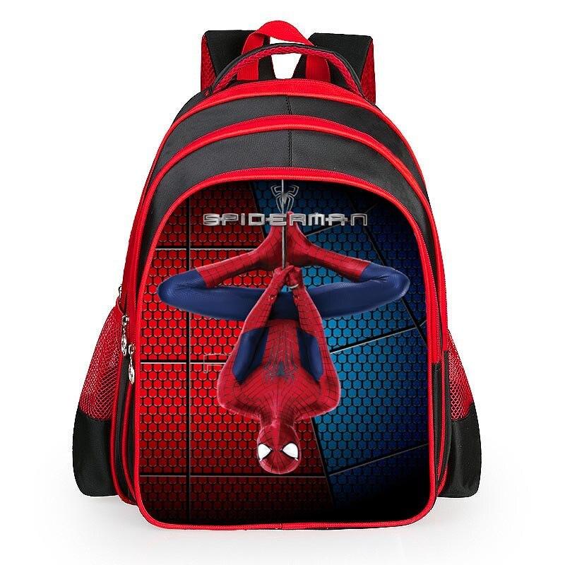 2017 Hot sale new iron man backpack cartoon bags Avengers children boys school bag kids girls grade book bag pupil<br><br>Aliexpress