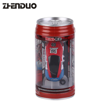 Buy Zhenduo 1/63 Coke Can Mini RC Car Multi-color High Speed Truck Radio Remote Control Micro Racing Vehicle Controle Electric Toys for $7.60 in AliExpress store