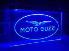 LD488- Moto Guzzi Motorcycle   LED Neon Light Sign     home decor  crafts