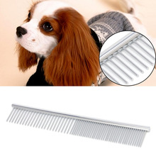 Practical Pet Comb Steel Pins Brush Clean Dog Hair Tools Comb Fine Trimmer Dog Cat Cleaning Grooming Fur Comfortable Cleaner