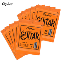 Orphee NX-1 Single Guitar String Replacement for Classical Guitar 1st E/ 2nd B/ 3rd G-String(.028) 10-Pack Nylon Hard Tension