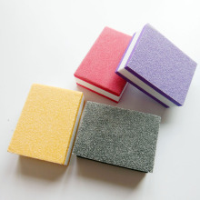 100 pcs random colour mini nail buffer block sponge block disposable nail file 100/180 mini nail buffer file manicure tool(China)