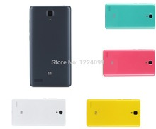 100% Original Rear battery housing door back cover for Xiaomi hongmi Redmi NOTE 1 and Redmi Note 2