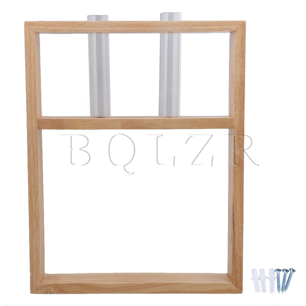 BQLZR Wooden Wall Mountable Shelf Cabinet Wall Glass Case Upper Hole Type<br>