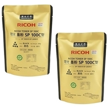 2pcs 80g Original black toner powder for Ricoh Aficio SP100 100SU 100SF 111 111SU 111SF SP201S SP201SF SP200 SP200S SP200N