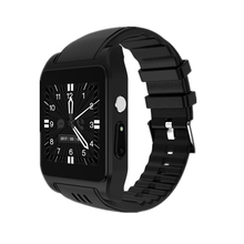 New Arrival X86 Bluetooth Smart Watch Android 4.4 RAM 512MB Rom 4G support Sim card 3G Wifi GPS Camera 2MP SIM Card Skype IOS(China)