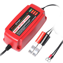 Waterproof 12V 5A Smart Car Battery Charger Maintainer & Desulfator for Lead Acid Batteries 100-240V AC input