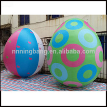 Free shipping height 3m wholesale customized decorative inflatable easter egg