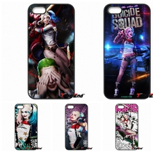 Suicide Squad Joker Harley Quinn Hard Phone Cover For Motorola Moto E E2 E3 G G2 G3 G4 PLUS X2 Play Style Blackberry Q10 Z10