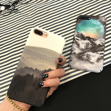 Lizardhill Scenery Landscape forest mountain cases for iphone 7 plus covers for iphone 6s 6 6plus phone coque for iphone 8 plus(China)