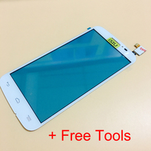 Top Quality Touch Screen With Digitizer For Alcatel Pop 7040A 7040F 7041X 7040D 7041D Phone Touchscreen NO LCD DISPLAY + Tools
