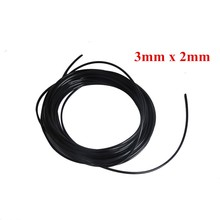 10 meters/lot 3*2mm UV ink tube for small damper for DX4 printhead,Roland,Mimaki,Mutoh solvent printer