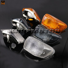 For KAWASAKI ZZR 400 600 ZX600E ZX-600E ZZR400 ZZR600 1990-1992 Motorcycle Accessories Front Turn signal Blinker Lens