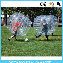Free shipping 1.0mm TPU 1.8m diameter zorb ballz,inflatable soccer ball,bumper ball for big heavy players(China)