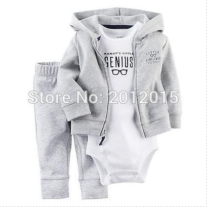 Baby Boys Suits Baby Clothing Set NewBorn Baby Boys girl Clothing 3pcs/lot New 2017 Children Casual Autumn Infant Sets<br><br>Aliexpress