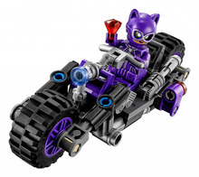 Lepin 07058 New Genuine Batman Movie Series The Catwoman Motorcycle Chase Set 70902 Building Blocks Bricks Educational Toys(China)