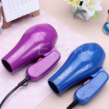 220V Portable Mini Hair Blow Dryer 850W Traveller Hair Dryer Compact Blower Foldable With US Plug(China)