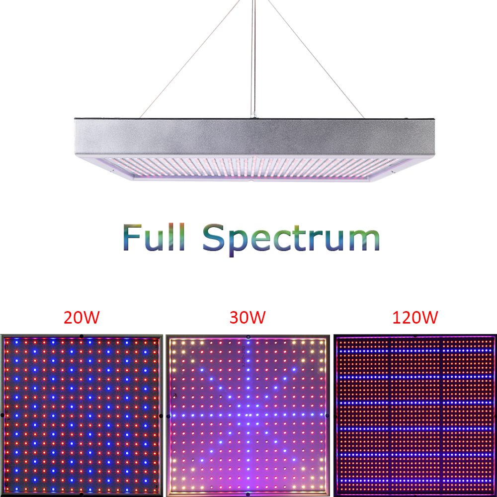 Full Spectrum 20W 30W 120W 1365pcs SMD2835 Grow Light 660nm+460nm Grow Leds For Hydroponic Lightings and Hydroponics System<br><br>Aliexpress