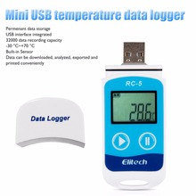 Mini USB Temperature Data Logger Temperature Sensor USB Temp Recorder Sensor Temperature Logger Temperature Recorder Termometro(China)