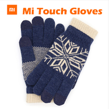 Original Xiaomi Finger Screen Touch Gloves Winter Warm Wool Gloves For iphone  Xiaomi Touch Screen Phone Tablet Cash Machine
