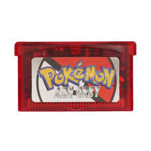 Nintendo GBA Video Game Cartridge Console Card Pokemon Series Ash Grey English Language Version(China)
