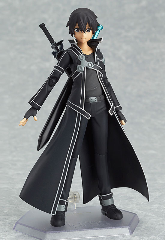 Hot SAO Sword Art Online Kirigaya Kazuto Kirito Figma 15CM Figure PVC Figurine CHN Ver. Boxed<br><br>Aliexpress
