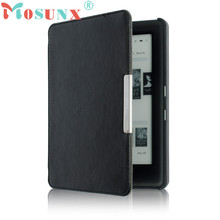 Top Quality PU Magnetic Auto Sleep Slim Cover Case Hard Shell For KOBO GLO HD 6.0inch Popular