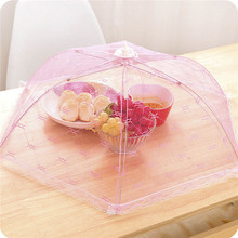 Meal cover Hexagon gauze table mesh Breathable food cover Umbrella Style Anti Fly Mosquito Kitchen cooking Tools