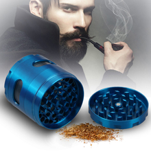 55mm Zinc Alloy Hand Crank Herb Miller Crusher Tobacco Smoke Grinder Tobacco Pipes Smoking Accessories