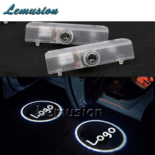 2X LED Courtesy Lamp Car Door Welcome Light 12V Projector For Infiniti QX56 2004-2010 JX35 2013-2014 QX60 2014 Accessories