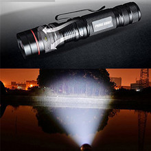 B2 Led Light 3000LM Zoomable Light XM-L Q5 LED 14500 Flashlight Torch Super Bright Light Aluminum Alloy Wholesales&Retails(China)