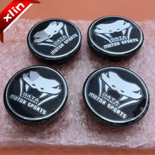 20pcs 56mm DATA CHAMPS MOTOR SPORTS logo car emblem Wheel Center Hub Cap Rim Badge covers 5JA601151A Free shipping(China)