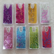 New Fun Glitter Star Flowing Water Liquid Case For Meizu Meilan Note2 Note 2 Transparent Clear Cover Hard Plastic Phone Cases
