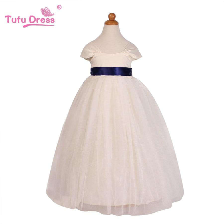 New Brand Girls Dress Summer 2-12 Years Baby Girls Dress Vestidos Tutu Wedding Party Baby Clothes<br><br>Aliexpress