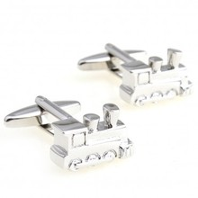 Tractor Cufflink Cuff Link 1 Pair Retail Free Shipping Promotion(China)