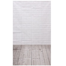Photography Background Studio Photo Props Thin Backdrop 3X5FT Wood Grain Brick style 2