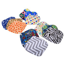 10 Patterns 20 x 18cm Women Feminine Hygiene Reusable Washable Panty Liner Bamboo Cloth Mama Menstrual Sanitary Nappy Towel Pad