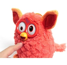 Dropshipping Boexed Plush Interactive Toys Phoebe Electric Pets Owl Elves Plush toys Recording Talking Toy Gifts Furbiness boom(China)