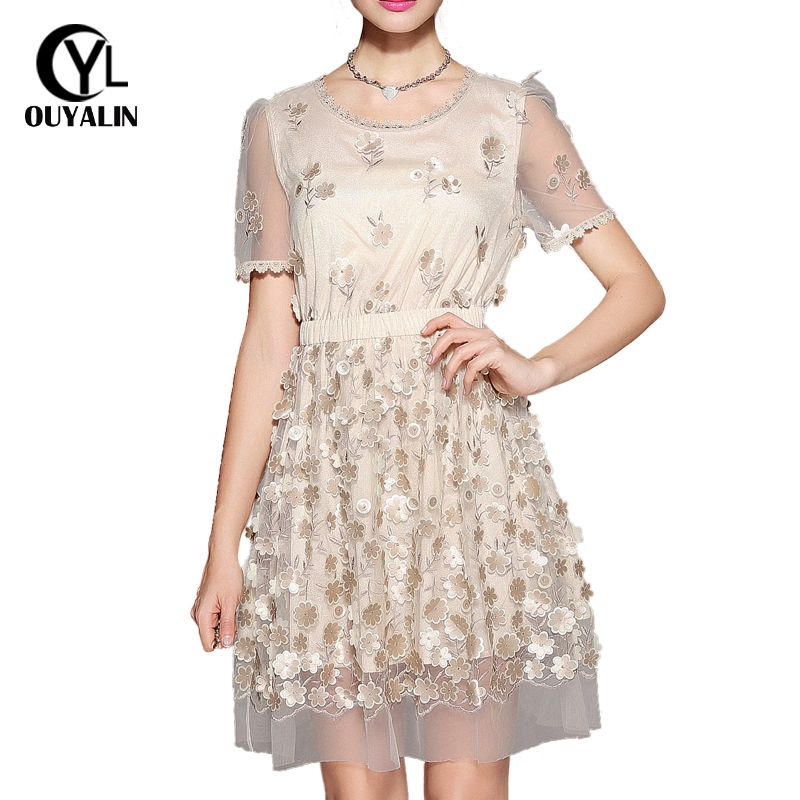 Detail Feedback Questions about S 5XL Elegant Floral Embroidery Mesh ... d98b22f159e5