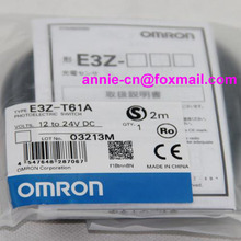 New and original  E3Z-T61A, E3ZG-T61  OMRON  Photoelectric switch  Photoelectric sensor     2M 12-24VDC