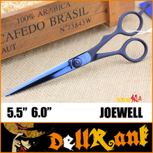 "Japan Original ""JOEWELL"" Scissors 6 Professional Barber Hairdressing Salon Scissors 440C High Quality Hair Cutting Shears J-4(China)"