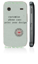 diy customize own design logo photo case hard plastic back cover case for Samsung galaxy s5560,free shipping