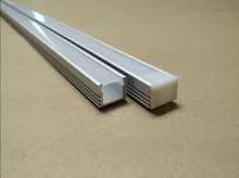 Free Shipping 2000mmX16mmX12mm 2.5meters/pcs 30pcs/lot 6000 Series Grade LED aluminium profile for LED Strips(China)