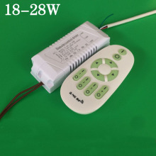 220V 240V 18W 24W 28W Double color power supply 2.4G Remote control driver for led Retrofit ceiling lighting