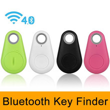 Smart Key finder Wireless Bluetooth Tracker Anti lost alarm Smart Tag Child Bag Pet GPS Locator Itag Tracker for iPhone Android(China)
