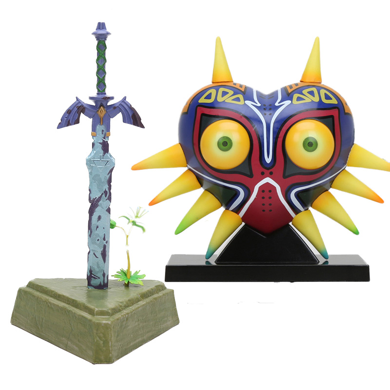 The Legend of Zelda Master Sword Breath of the Wild Figure New No Box 10/""