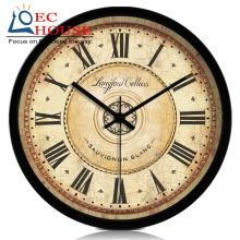 Retro European American living room wall mute quartz electronic clock watch big creative fashion classical nostalgia