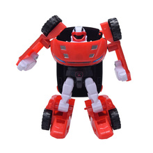 Mini Cars Kid Classic Robot Car Model Toys Education Deformation Boys Gift Pinata Deformation Robot Cars Baby Toys Model oyuncak(China)