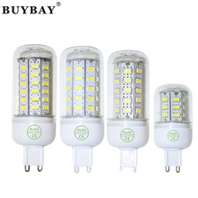 Buybay lamp SMD 5730 Bulb G9 110V/220V 24LED to 90LED led corn bulb white/warm white light 5730smd lamp